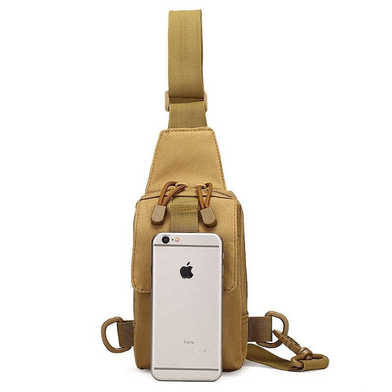 7e160c470b9 Hike Nylon Borst Pak Mannen Messenger Bags Borst Tas Apparatuur Crossbody  Sling Mannen Borst Zak Drop Verzending Militaire Arm Telefoon tas in Hike  Nylon ...