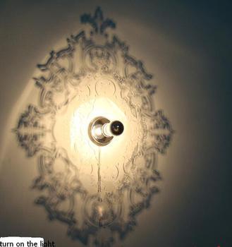 Lâmpadas famoso design minimalista lâmpada de parede sombra de Roma corredor lâmpada de parede LEVOU quarto estudo pós FG1555
