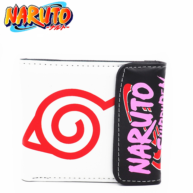 Very cool Naruto Shippuden PU Leather Wallet