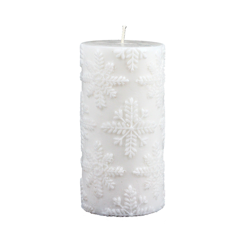 3D Silicone Soap Candle Mold Cylinder Mould For Handmade Craft Resin Clay Decorating Tool