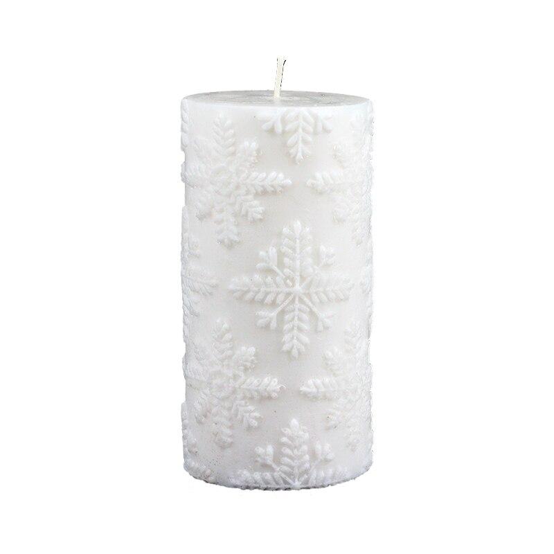 3D de silicona jabón molde vela molde de cilindro para hecho a mano artesanía arcilla resina decoración de la herramienta-in Moldes para velas from Hogar y Mascotas    1