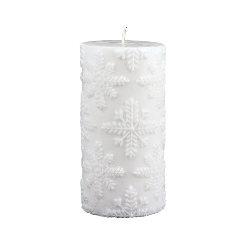 3D سيليكون الصابون قالب شمع اسطوانة العفن ل اليدوية الحرفية الراتنج الطين أداة زخرفة-في قوالب شمعة من المنزل والحديقة على  مجموعة 1