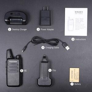 Image 5 - 10pcs/lot Zastone X6 Handheld Walkie Talkie UHF 400 470mhz Cheap Price Mini Radios Comunicador Transceiver X6 CB Radio & gifts