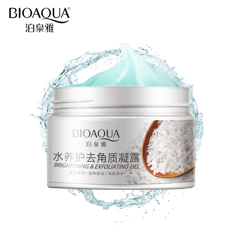 BIOAQUA Brand Skin Care 140g Facial Exfoliating Moisturizing Cream Shrink Pore Brightening Skin Oil-control Hydrating Cream