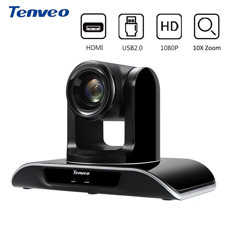 Tenveo VHD103U PTZ HDMI full HD 1080 p Video Della Macchina Fotografica del USB 3.0 10X Ottico Zoom 2.38 mega Pixel di Video Conferenza macchina fotografica per il Proiettore