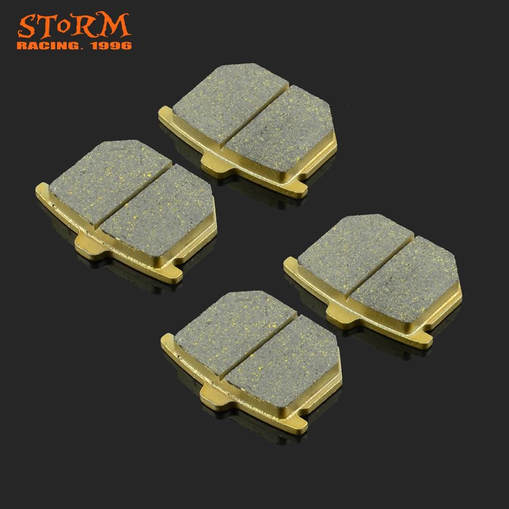 Front & Rear Brake Pads For HONDA CX GL CB CBX GL 400 500 750 900 1000 1100 CX500 GL1000 CB400N CB750 CBX1000 CB900 Motorcycle