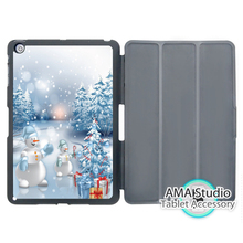 Merry Christmas Gift Snowman Smart Cover Case For Apple iPad Mini 1 2 3 4 Air Pro 9.7