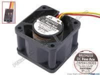 SANYO 109P0412B303 DC 12 V 0.28A 40x40x28mm Server Vierkante Fanhttps://item. taobao
