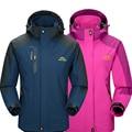 Primavera outono Mulheres Homens jaqueta casaco para homens jaqueta caminhadas Ao Ar Livre Camping esportes jaquetas masculinas blusão impermeável À Prova de Vento