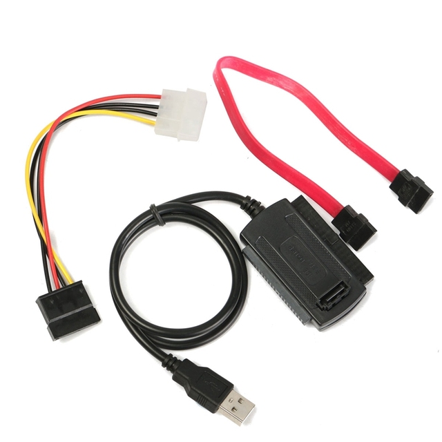 SATA IDE to USB Cable Converter Adapter Connect Cable For for Hard ...