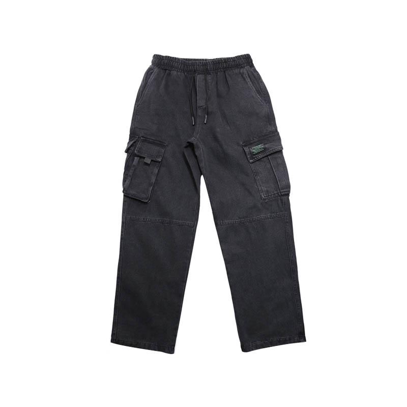 Denim 2 Mode Cargo Mens Droites Coréen Style bleu Sport Casual Noir Couleurs Jeans Pantalon Nouveau fSSHwqUF