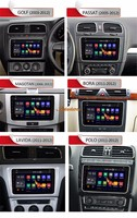 8Inch 3G WIFI Android Car DVD Video Player For VW Seat For Skoda GPS Navigation Multimedia