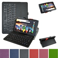 For Lenovo Tab 3 8 Tab 850F Case Removable Bluetooth Keyboard Leather Case Cover For Lenovo