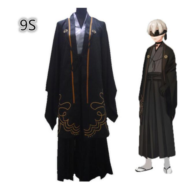 Game Anime NieRAutomata cosplay YoRHa 2B 9S Halloween Party