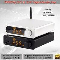 Придет MX3 Hifi Цифровой усилитель USB ЦАП усилителя портативный bluetooth усилитель аудио декодер усилители усилитель для наушников