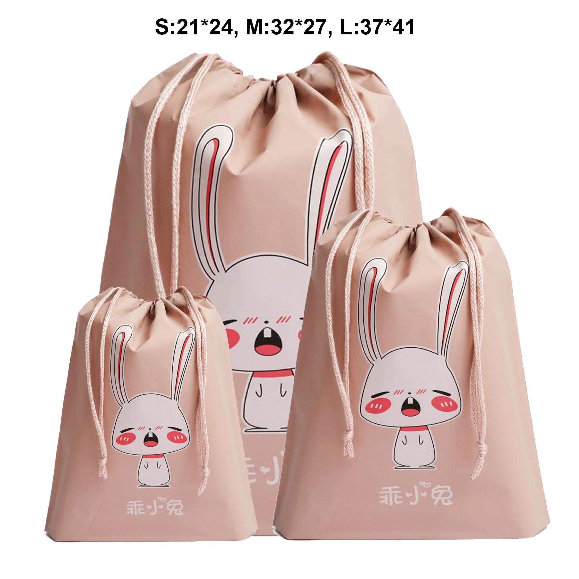 Водостойкий ящик Drawstring одежда упаковка, хранение сумка дорожная косметичка органайзер для мытья сумка в сумке PEVA Сумка сумки для женщин