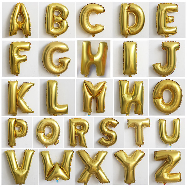 gold foil letter balloons16 inch mylar balloongold birthday photoshootfor
