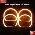 4x131mm SMD LED Angel Eyes Car SMD LED Angel Eyes headlights for BMW E46 E36 E39 E38 Projector Cotton LED Angel EyesYellow 3000K