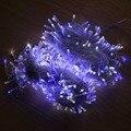 500 Led de Hadas Luces LED de Bajo voltaje de Línea Transparente Estrellado Luces de Cadena Para la Fiesta de Navidad Del Jardín Al Aire Libre Patio Decoración