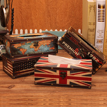 British style vintage  toilet paper stand kitchen towel holder hand dispenser antique table home decor