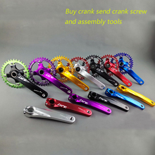 цена на MTB Mountain Bike Crankset Bicycle Crank fluted Aluminum Alloy Bicycle Crank