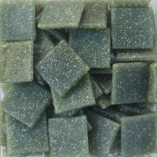 200g/68pcs 20 X 20mm 3/4 Inch Blue Green Quartz Loose Mosaic