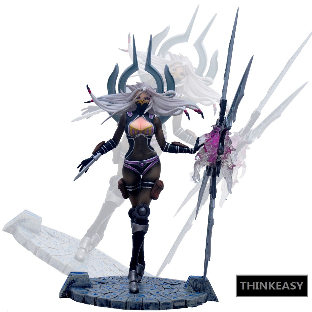 LOL 23cm PVC Action Figure High quality kids toy Online game Blades Irelia PVC Anime Figure Toy Collection model gift New Hobby