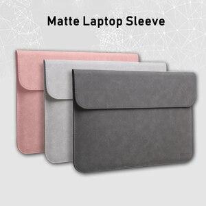Image 5 - Notebook Sleeve Bag for Macbook 13.3 inch Huawei Matebook D Xiaomi Surface Pro 6 Laptop Bag 12 Pro 13 15 inch Women Men 14 15.4