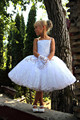 Bling Beading Knee-Length the First Communion Dresses for Girls Vestidos de Comunion Casamento Flower Girl Dresses for Wedding