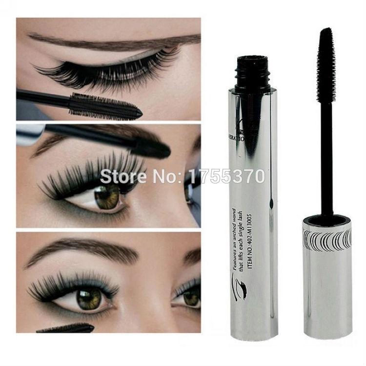 Beauty & Health Symbol Of The Brand 3d Fiber Mascara Long Black Lash Eyelash Extension Eye Silicone Brush Curving Lengthening Mascara Waterproof Makeup Beauty Essentials