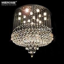 цена Good Quality Crystal Chandelier Luxurious Crystal light fixture Flush Mounted lamp lustre de cristal for staircase Hotel project онлайн в 2017 году