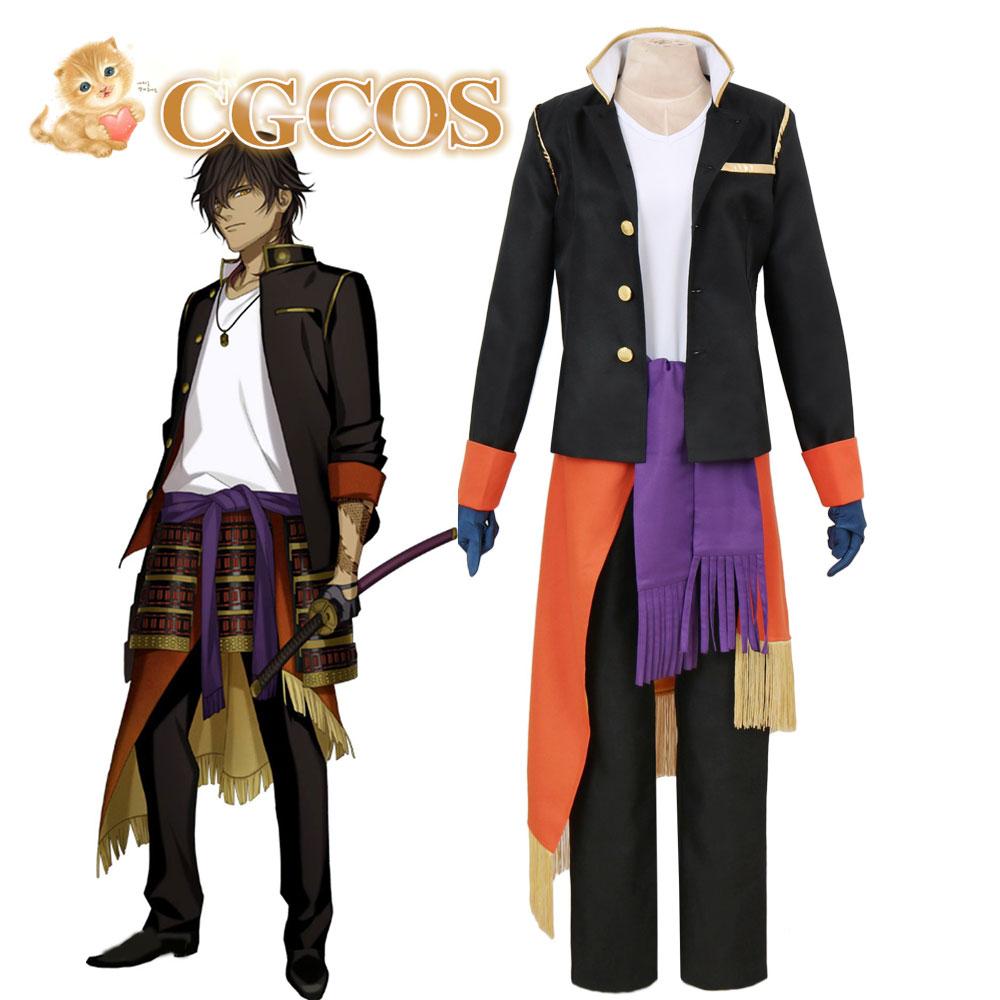 CGCOS Express! Touken Ranbu Online Ookurikara The Sword Dance Game Cos Anime Cosplay Costume Uniform Helloween Custom-made