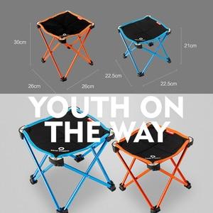 Image 4 - Садовые стулья, переносные, складные, для рыбалки, кемпинга, из алюминиевого сплава, Oxford, 2 размера