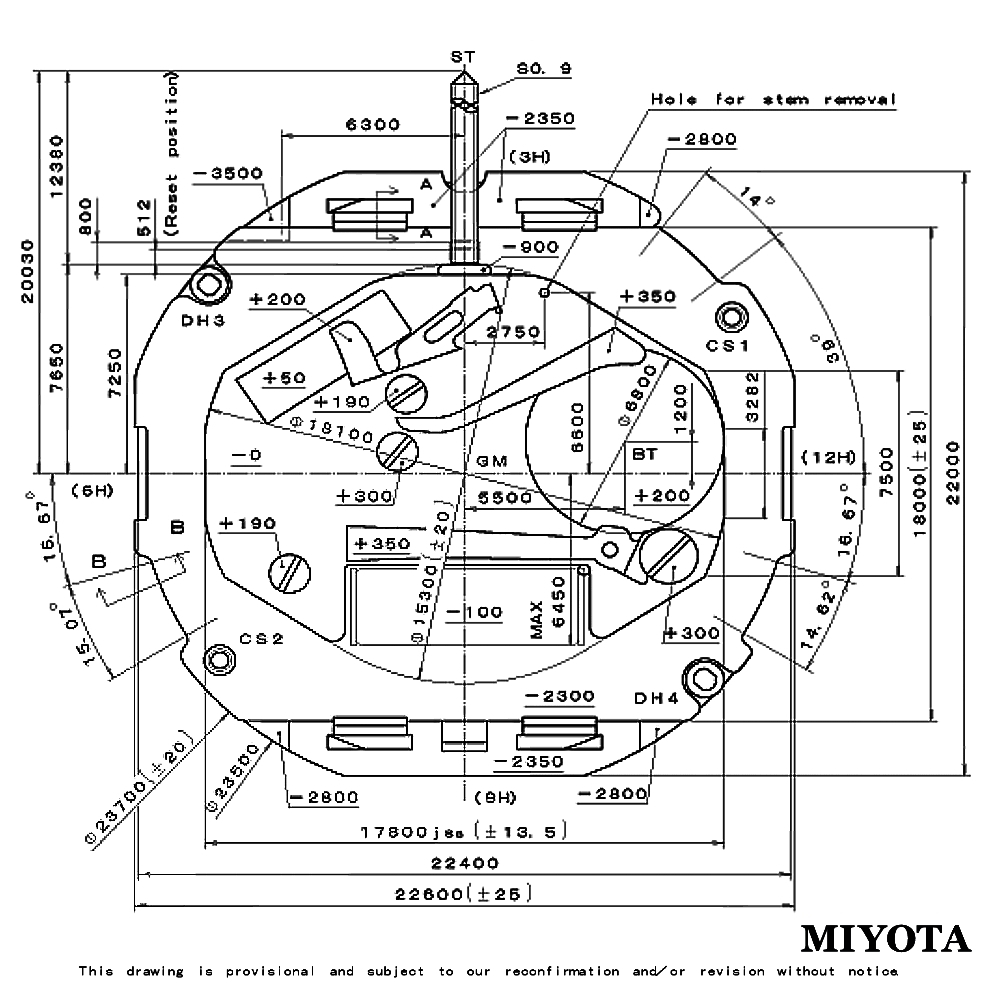 watch movement diagram 2000 gmc sierra 1500 radio wiring miyota 2115 quartz with date battery included replace repair in mechanical watches from on aliexpress com alibaba group
