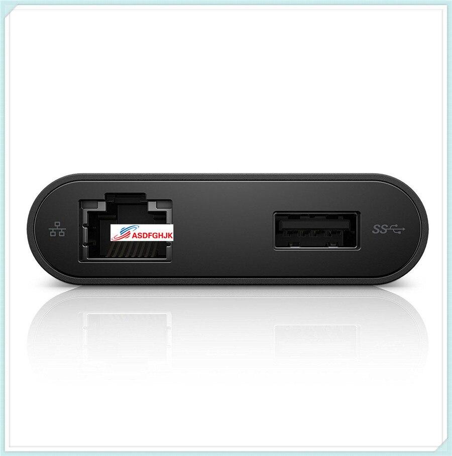 FÜR Dell USB-C Ethernet USB 3.0 HDMI Adapter DA200 470-ABQN