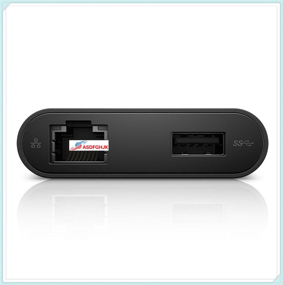 FOR Dell USB-C Ethernet USB 3.0 HDMI Adapter DA200 470-ABQN