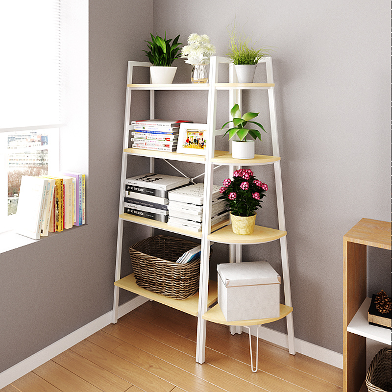 Lovely DALEO CASA Modern Minimalist Ikea Style Three Tier Corner Shelving Creative  Home Decor Shelf Bookcase In Luggage Racks From Furniture On Aliexpress.com  ...