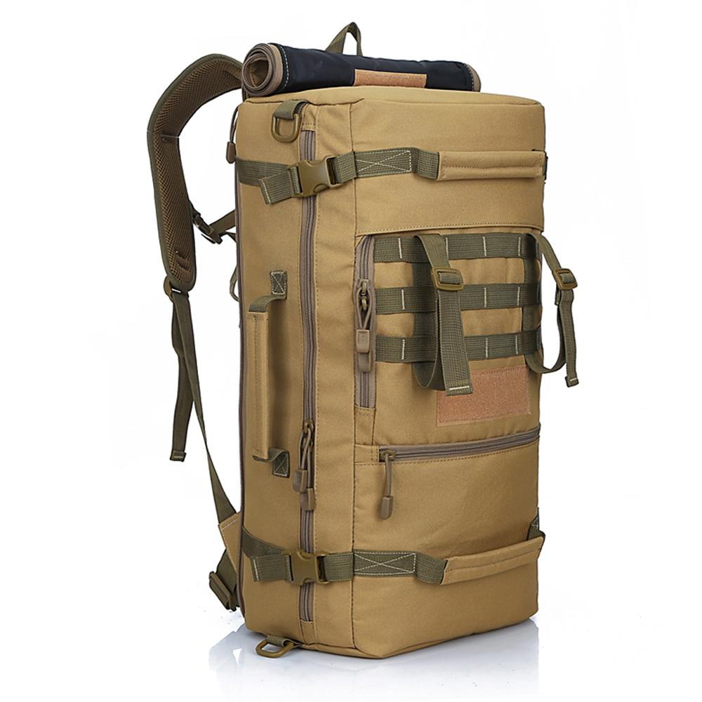 Backpack Taktikal Tentera Panas Sukan ransel luar Mendaki Berkhemah Lelaki Perjalanan Beg Penyamaran Ransel Laptop Singa tempatan 132