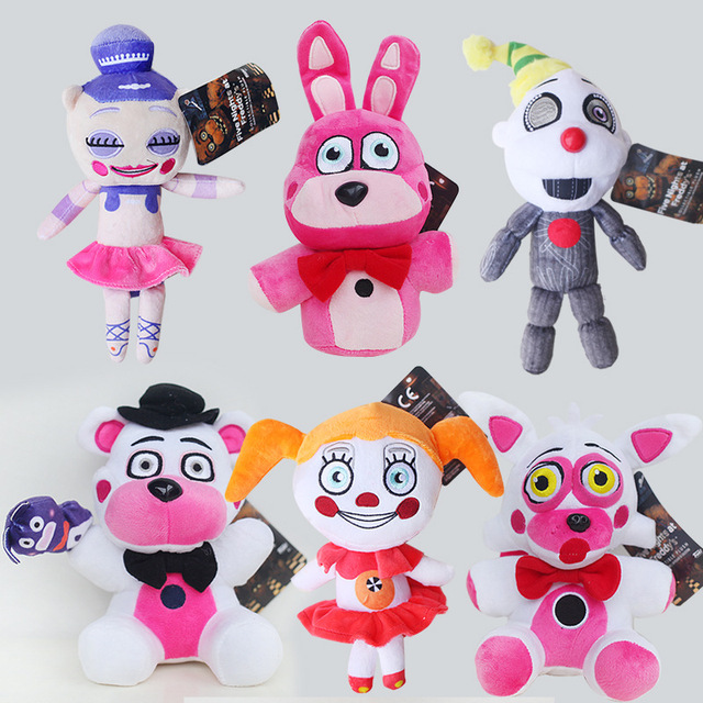 20cm Fnaf Plush Toys Five Nights At Freddy S Sister