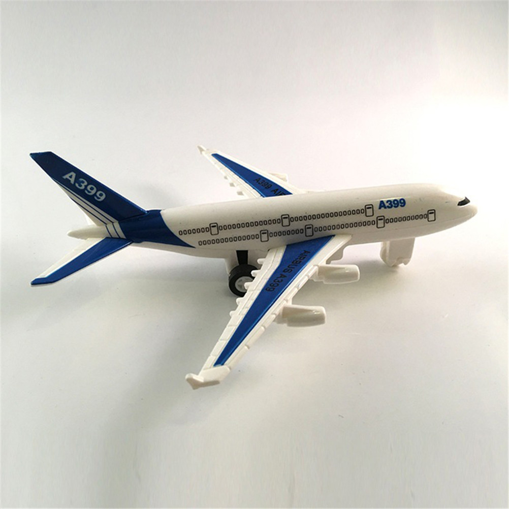 Air Bus Model Kids Children Fashing Airliner Passenger Plane Toy Passenger Model