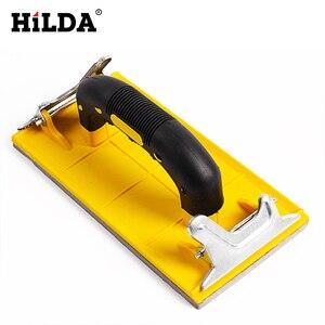 Image 4 - Hilda Sandpaper Holder Grinding Polished Tools For Walls Woodworking Polishing Sandpaper Holder Abrasive Tools