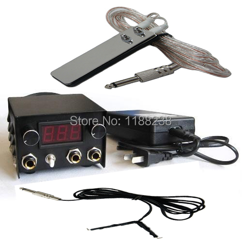 Professional Mini Double Jack Tattoo Power Supply+Foot Switch+Clip Line+power Line for tattoo machine gun kit free shipping пылесос ghibli power line power t d 36 i combi 15784010001