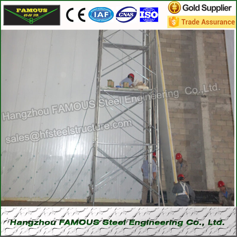 Insulated Panel Used In Walk In Cooler Walk In Freezer And Refrigration Units Industrial Blast Freezers For Meat China Supplier