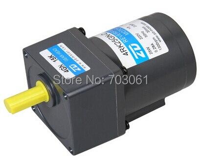 10W mirco torque motors AC geared motor Micro AC gear motor ratio 90:1 wavac ac 1