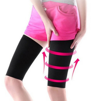 Útil 1 par, formador de piernas de muslo Delgado a la moda, calcetines para quemar grasas, compresión de piernas, adelgazamiento
