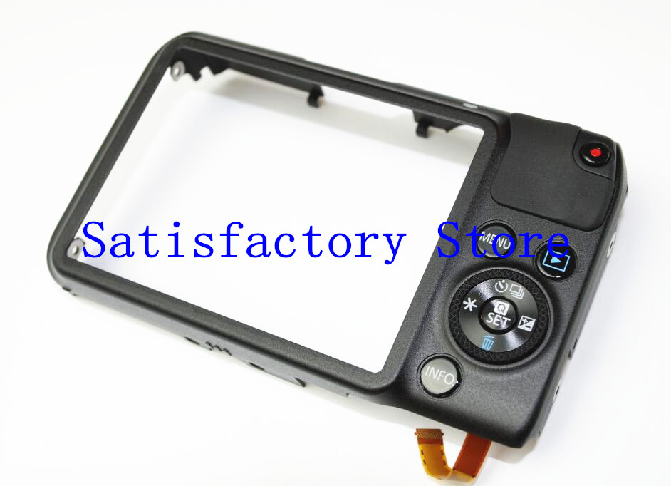 95%new For Canon M for EOS M1 FOR EOSM Back COVER REAR with flex and key replacement Repair Part95%new For Canon M for EOS M1 FOR EOSM Back COVER REAR with flex and key replacement Repair Part