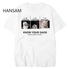 166739df35479 Ahegao T-shirt Dos Desenhos Animados T-shirt de Manga Curta Mens Camiseta  Verão Homme Confortável O-pescoço Camiseta Moda Tops