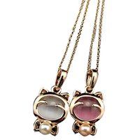 New Design New Style Fashion Girl Lady Animal Cat Necklace For Best Friends