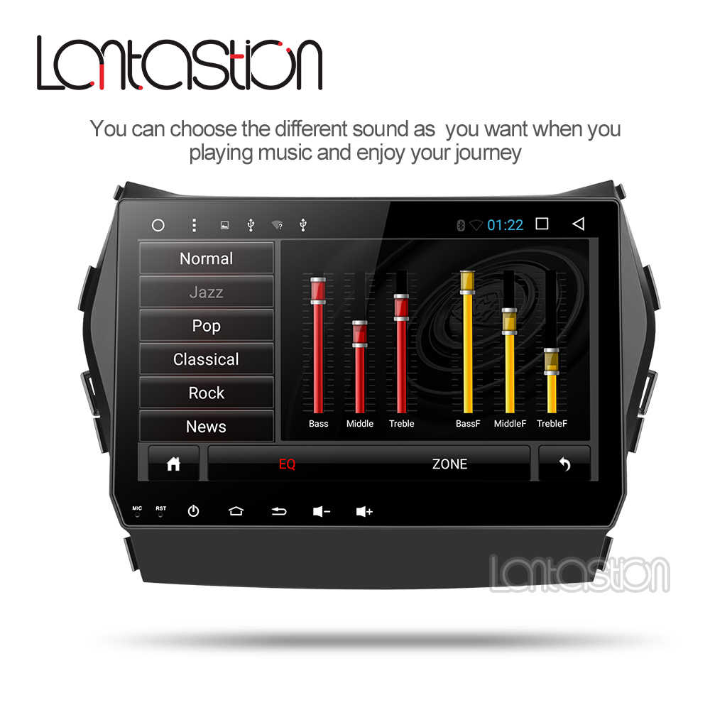 L14 Allwinnner T8 voor Hyundai IX45 Santa fe 2013 2014 2015 2016 2017 18 auto radio stereo navigatie auto multimedia speler gps