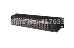 ФОТО  16 In 32 Out Composite BNC Video Distributor w/ Signal Amplifier 16-32 Splitter For CCTV Security System